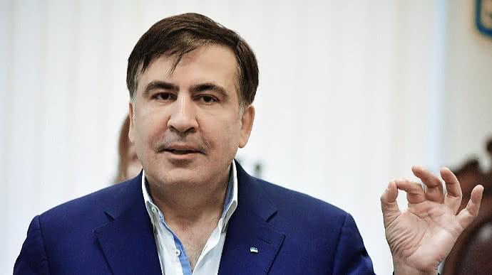 Абсолютно его идея. Саакашвили сделал это. Зеленский не ожидал, «уже под кем-то»