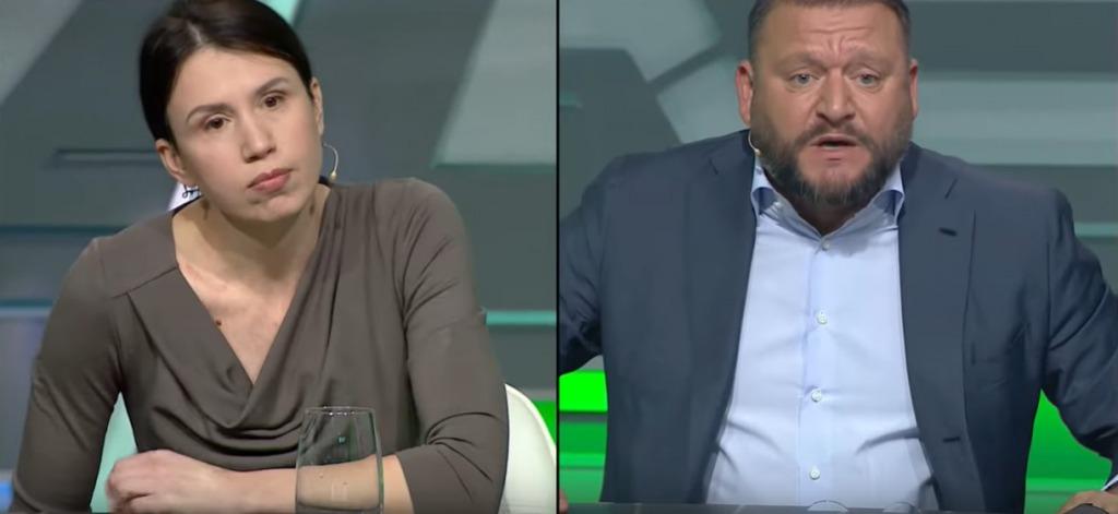 «Я вам вызову санитаров»: Добкин и Чорновол устроили скандал в эфире телеканала. «Это вы наркотиками балуетесь»