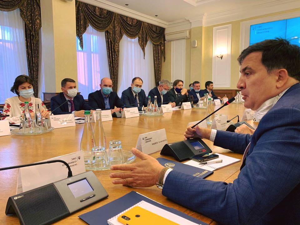 Жестко и по существу. Саакашвили уже встретился с ней. Приняли неотложное решение — положат конец