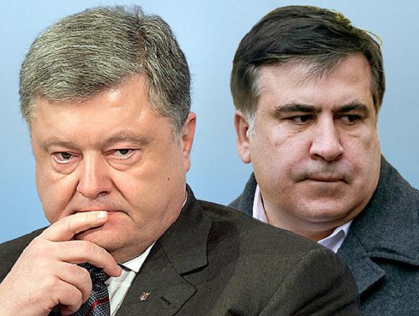 «Барыги!»: Саакашвили разоблачил скандальную правду о Порошенко. Был свидетелем этого. Должны заняться правоохранительные органы