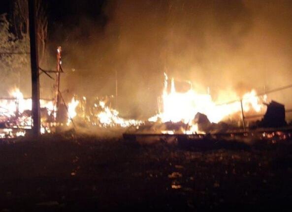Вспыхнули, как спички: в Одесской области произошел масштабный пожар. На базе отдыха