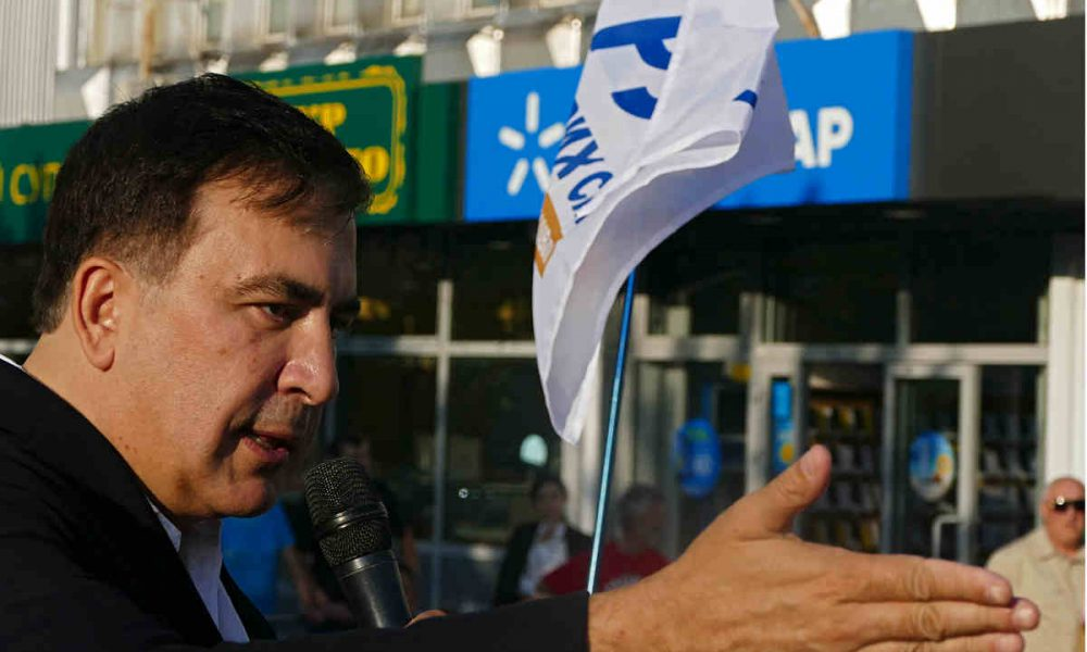 С самого утра! Саакашвили показал кто есть кто, у Авакова это отберут: будет достойный премьер