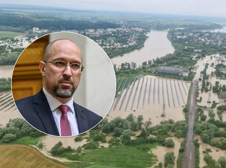 «Ситуация критическая!»: Шмыгаль сделал экстренное заявление из эпицентра «стихийного бедствия». «Затопило «коронавирусную» больницу»