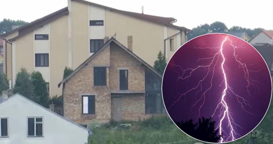 «Выстрел у меня и свет погас»: на Львовщине женщину пронзила молния. Сидела в доме на ковре