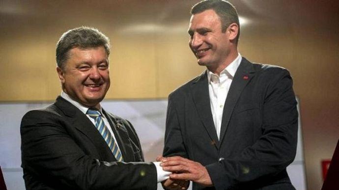 «Запустить волну политического очищения» У Порошенко готовы взяться за Кличко видят во главе