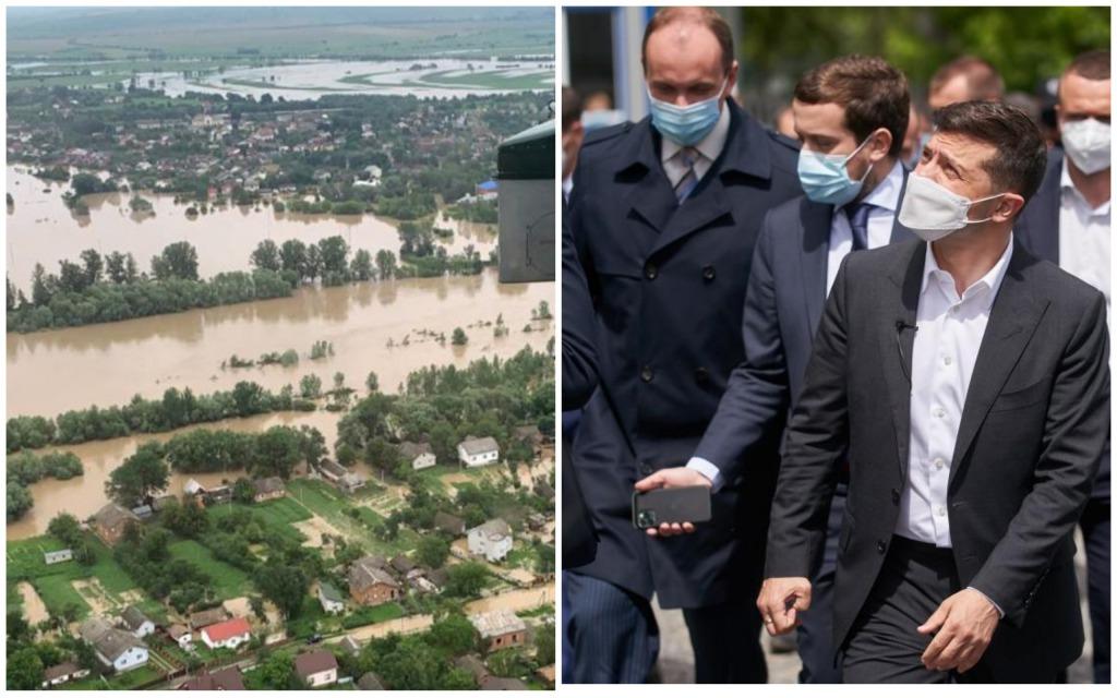 Срочно! Зеленский прибыл в эпицентр стихийного бедствия. «Лично осмотрит разрушенные территории»