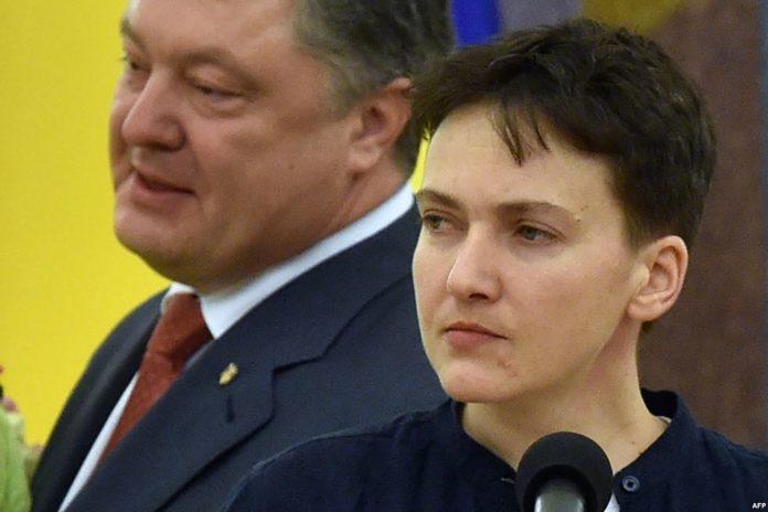 «Ставил на ликвидацию» Савченко взорвалась скандальным заявлением о Порошенко: преследовал ее. «Лицемерие»