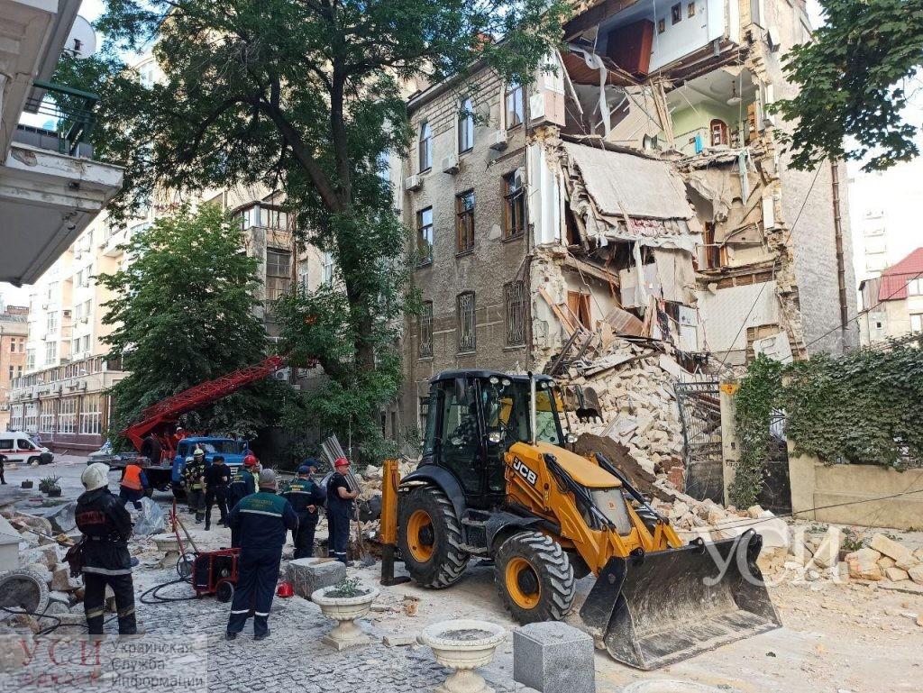 Работают спасатели! В Одессе ночью обвалился жилой домой. Аваков сделал срочное заявление