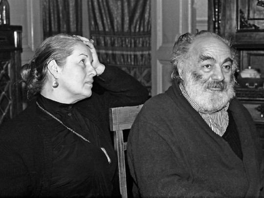 Без нее он и не выжил бы: в Киеве ушла из жизни вдова Сергея Параджанова