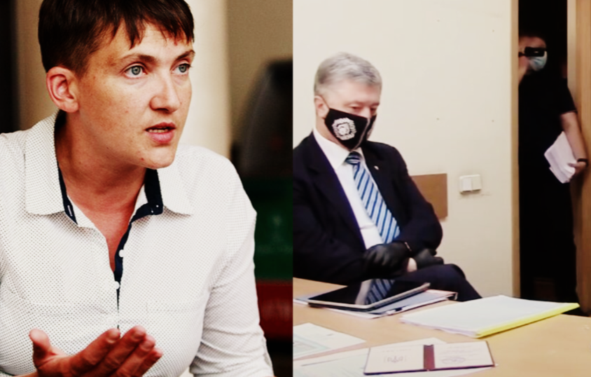 «Ловят олигарха Порошенко!» Савченко подорвала страну своим обращением. Сажают в тюрьму