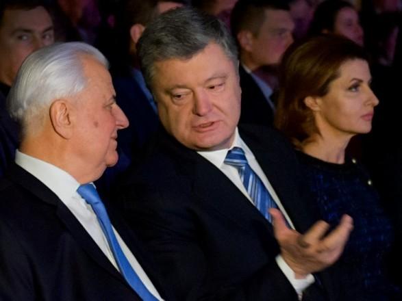 Украина должна знать правду! Кравчук покраснел от злости. Сказал о Порошенко все. «Он всегда был таким»