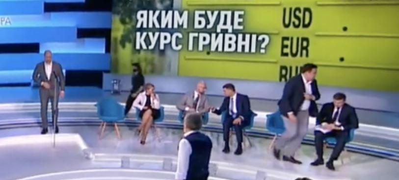 «Громко упал на пол»: Саакашвили перед прямым эфиром попал в скандальную ситуацию. «Очень злой»