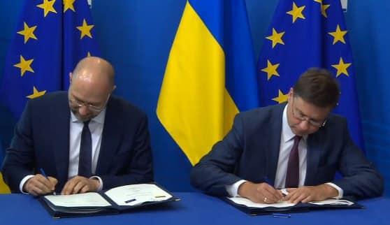 «Наибольший транш» Украина подписала новую программу помощи с ЕС: Шмыгаль сообщил детали