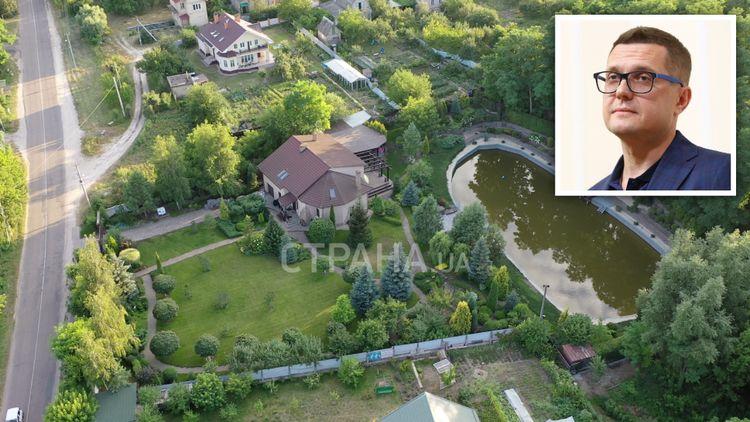 «Персональное озеро и красивый сад» В Сети показали резиденцию главы СБУ. «А рядом простые соседи с теплицами»