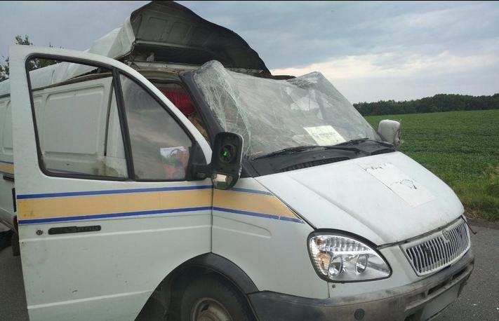 Взорвали и похитили почти 3 млн грн. Неизвестные совершили дерзкое нападение на авто «Укрпочты»: есть пострадавшие
