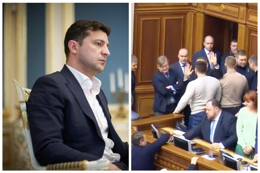 «Удар по имиджу президента!»: Рада саботирует решение Офиса Зеленского. «Праведного гнева не избежать». Роспуск