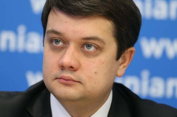 Не боится! Разумков сделал ключевое заявление о кресле «премьер-министра». Говорил с Зеленским