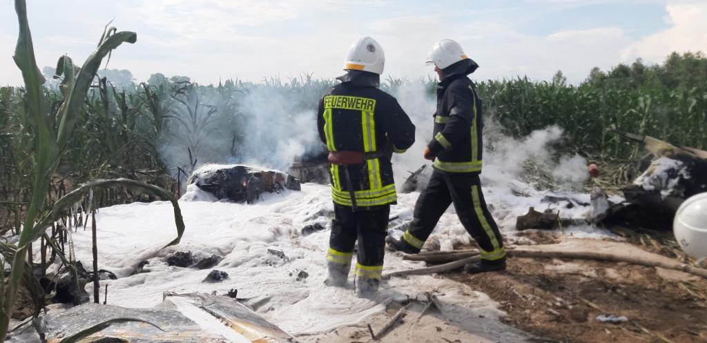 Упал и загорелся! Под Киевом произошла трагедия с небольшим самолетом
