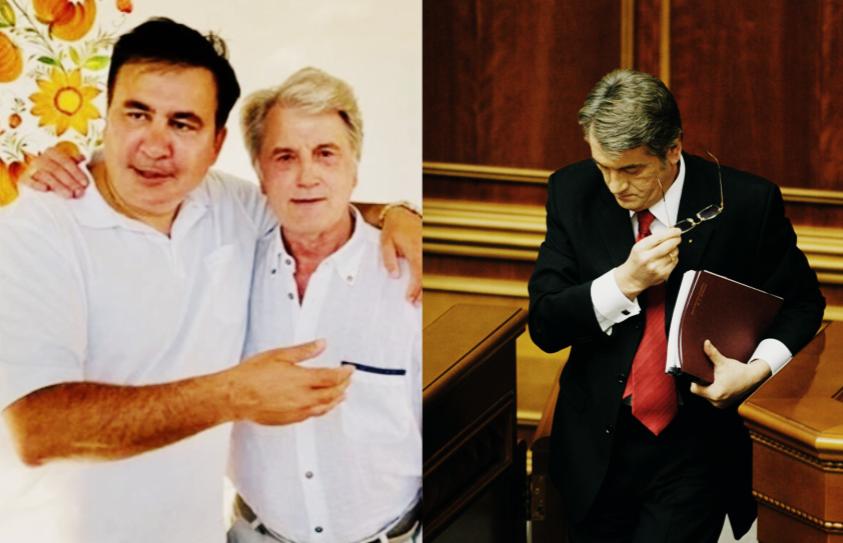 Ющенко пришел к нему — уже встречался с Зе. Саакашвили поразил всех — это его выбор