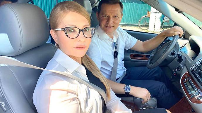 Объединились ради страны! Ляшко и Тимошенко отправились в путешествие на Черниговщину