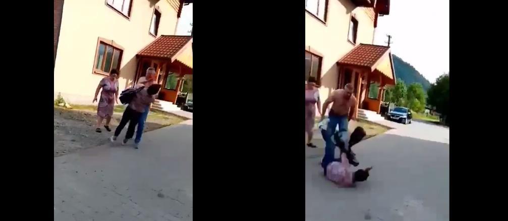 «Не поделили кусок земли» Бывший соратник Тимошенко жестоко избил женщину. «Ударил в лицо»