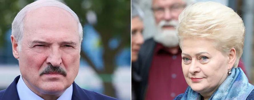 «Диктатор с окровавленными руками!»: Грибаускайте просто «размазала» его своими словами. «Лукашенко, уйди сейчас!»