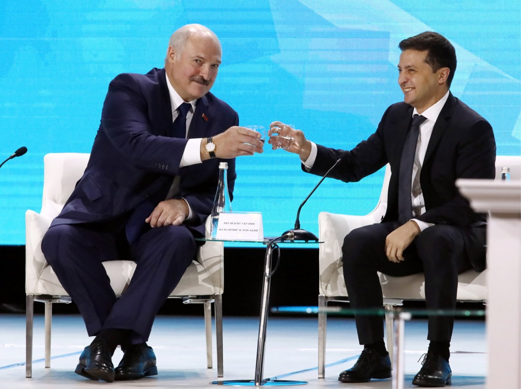 «Мы хотим и умеем». Зеленский прокомментировал ситуацию в Беларуси. «Они в полной безопасности»