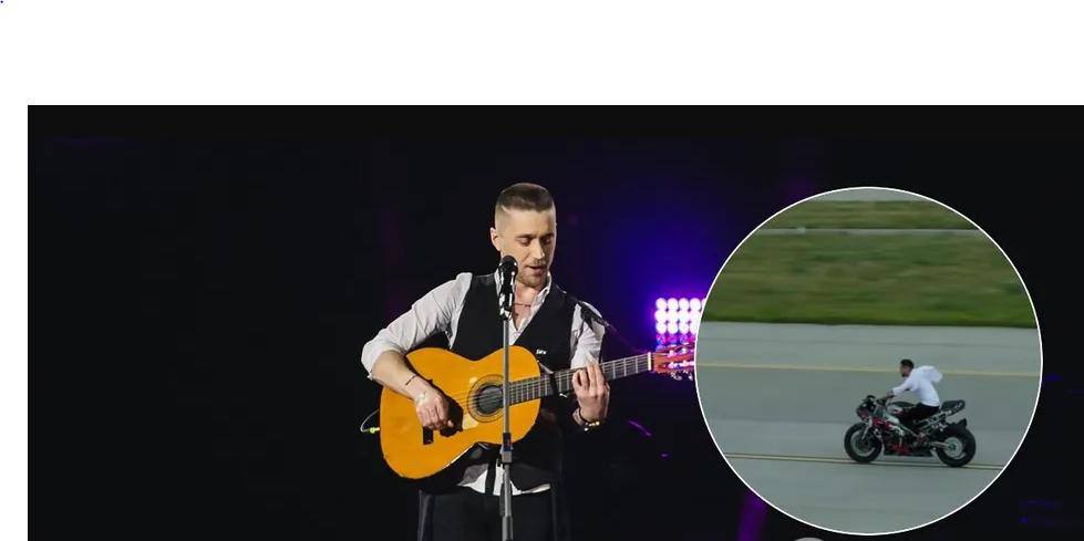 «Отвлек гул двигателей». Украинский певец едва не погиб на съемках клипа. «Как в замедленной съемке»