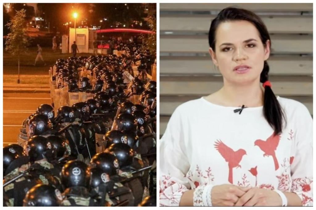 «Остановите насилие!»: Соперница Лукашенко на выборах срочно обратилась к силовикам. «Проснутся в новой стране»