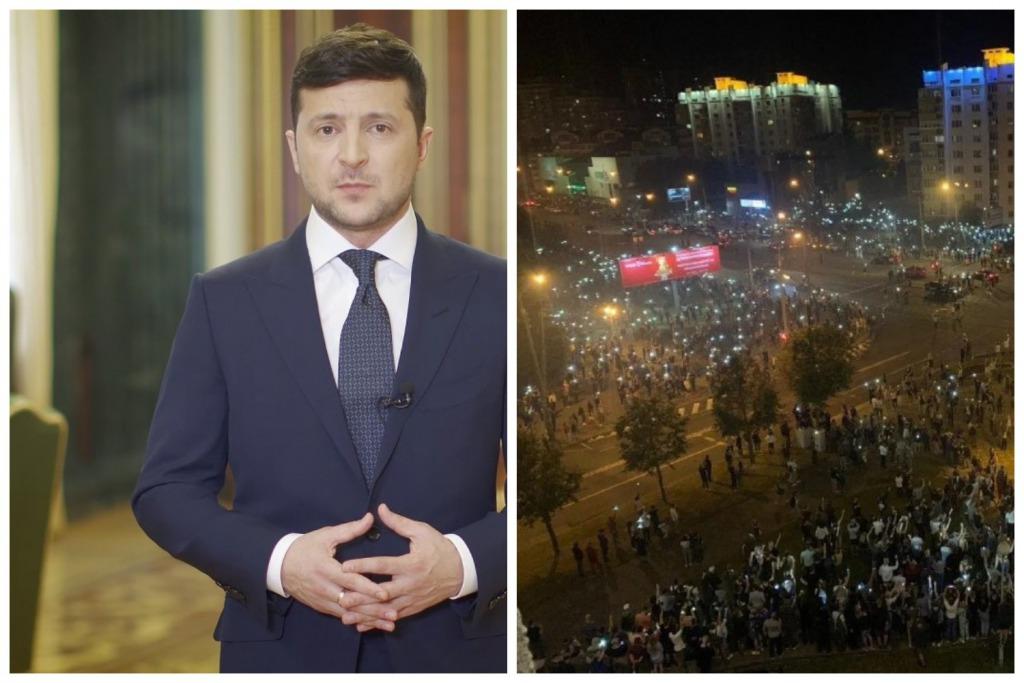 «Майдан в Беларуси!»: Зеленский выступил со срочным обращением. «Прямая дорога к насилию»
