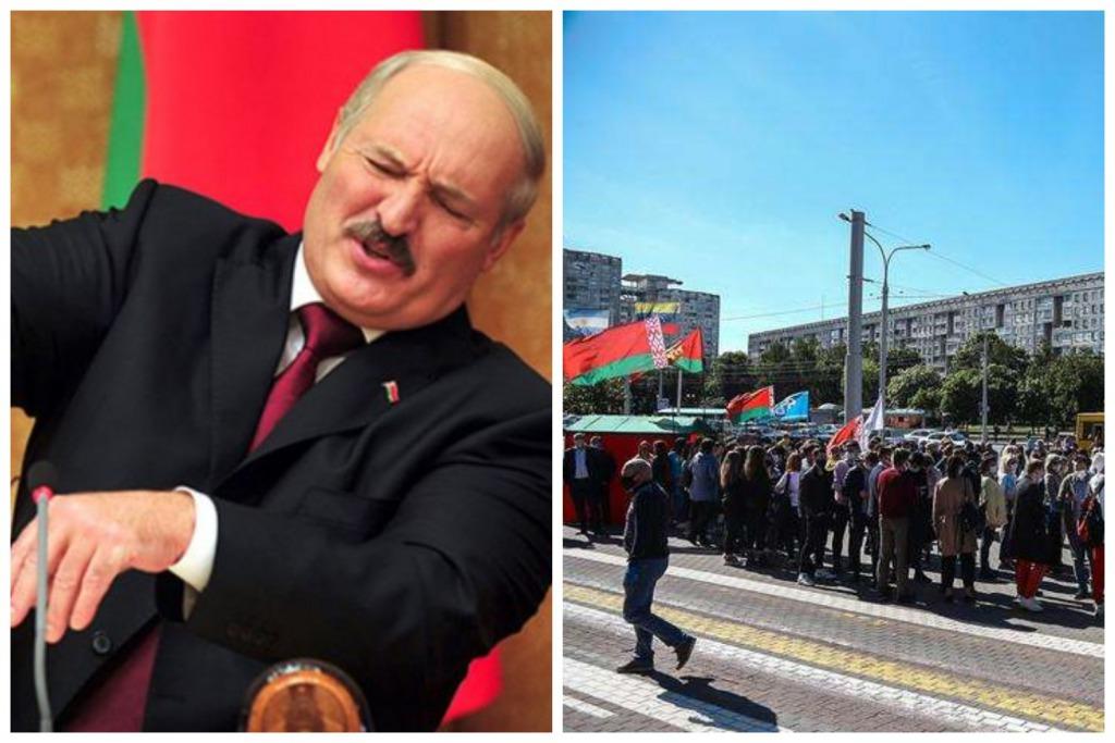 Угрожают увольнением! Лукашенко решился на отчаянный шаг. В Минске на митинг сгоняют бюджетников