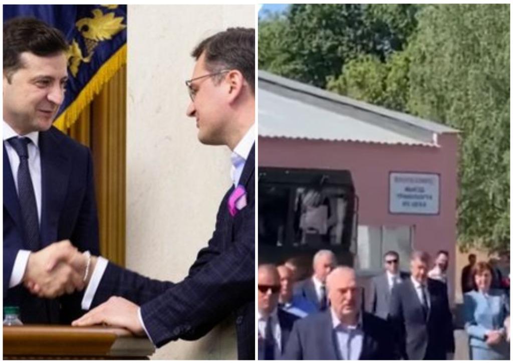 Только что! Такого еще не было — он уже выехал оттуда. Прямо в Киев. Лукашенко в шоке!