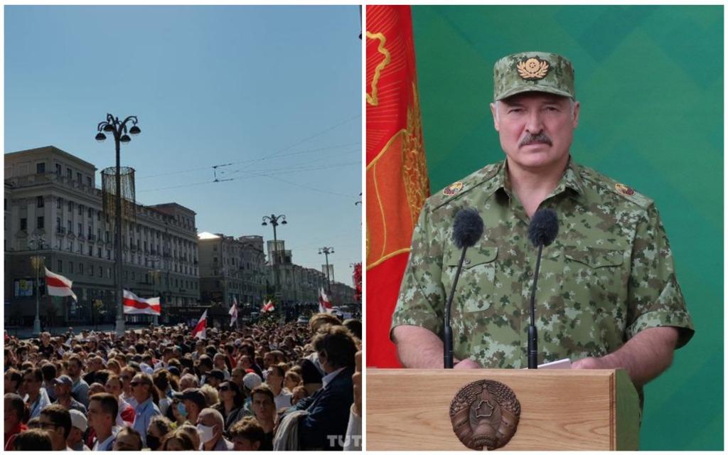 Срочно! Бежать больше некуда, Лукашенко в панике: столкновения на улицах Минска. Вышли все