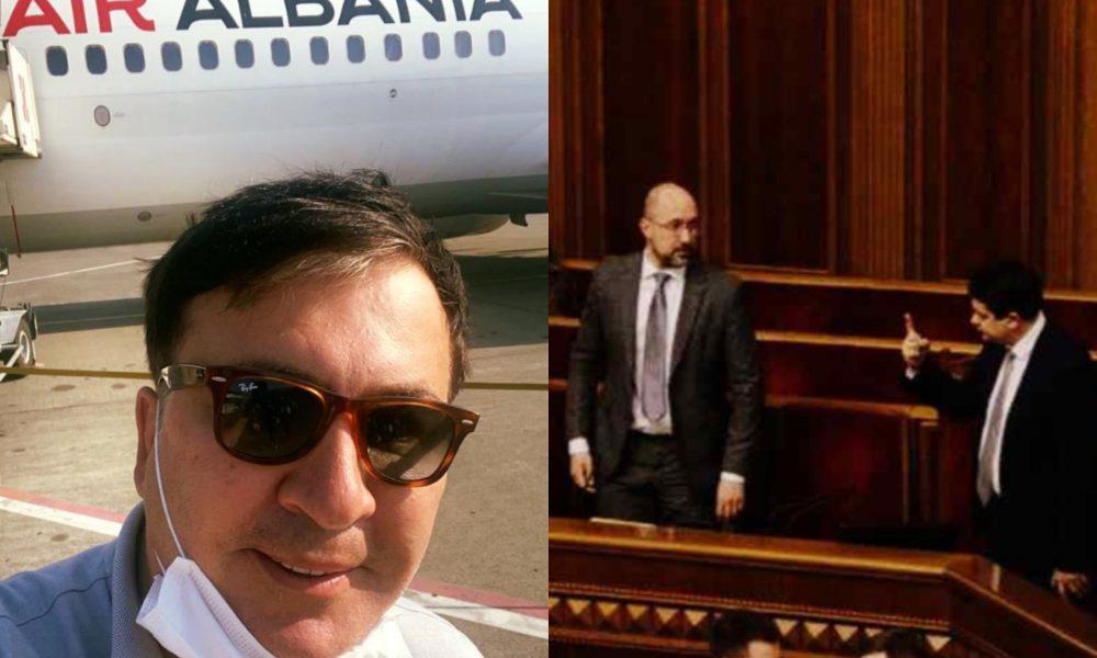 Покинул страну! Саакашвили ошеломил решением — идет в премьеры. Шмыгаль в ауте — он сделал это