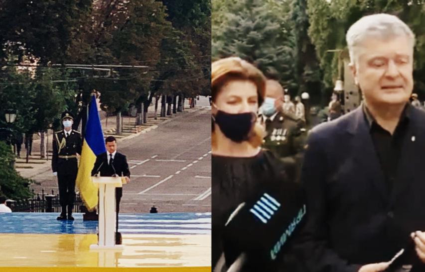 Прямо со сцены! Только что, влепил Порошенко — Зеленский сказал это, они сдали страну. Не путайтесь под ногами!