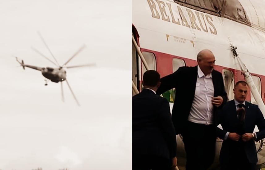 Он исчез! Прямо возле дома — поздно ночью, Бацька сделал это. Страна поднялась — Лукашенко, беги!