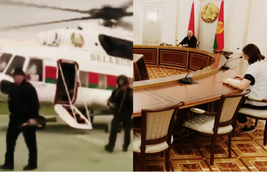 Прямо во дворце! Лукашенко такого не ожидал – это увидели все. Он набросился на них
