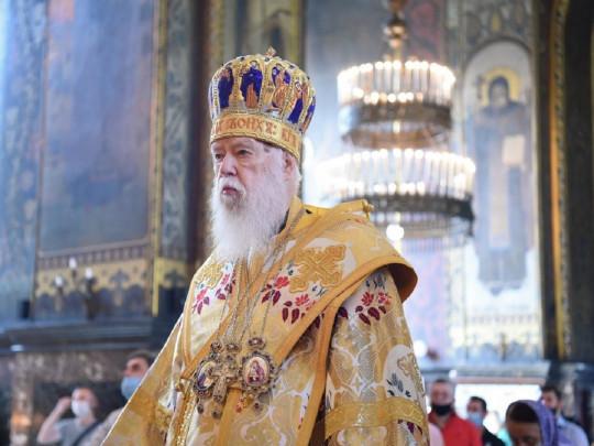 «Воспаление легких» В 91-летнего патриарха Филарета диагностировали коронавирус. Стало известно о его состоянии