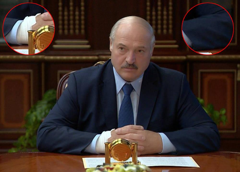 С катетером на кисти! Лукашенка спустили с лестницы – состояние критическое. Охрана вела за руки – Коля рыдает