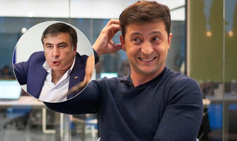 Коррупционер и решала! Саакашвили не выдержал — впервые разнес команду. Зеленский в шоке — не ожидал!