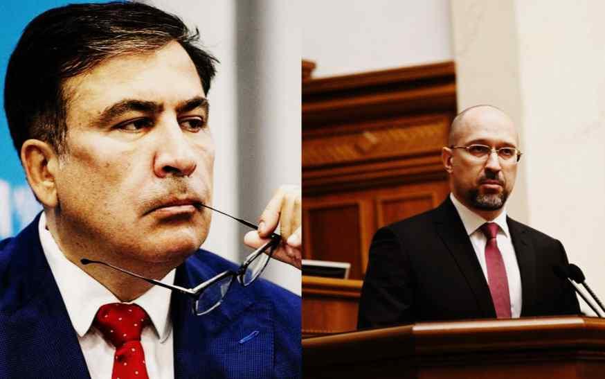 Только что! Саакашвили просто снес Шмыгаля! Так дела не будет — это путь к геноциду! С каждым днем хуже
