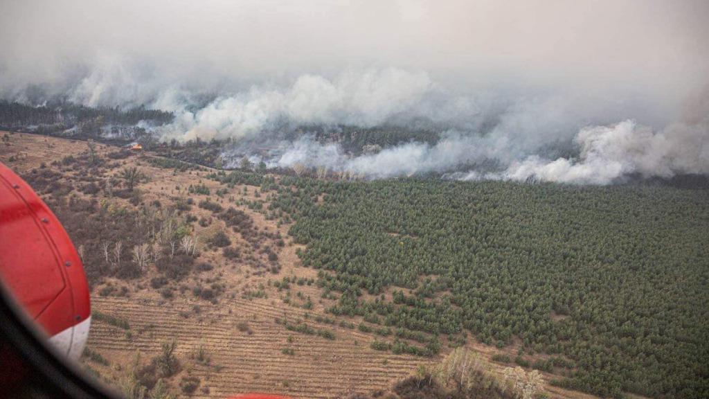 Только что! Власти приняли экстренное решение, уже на пути туда — будет эвакуация: огонь подбирается к поселку