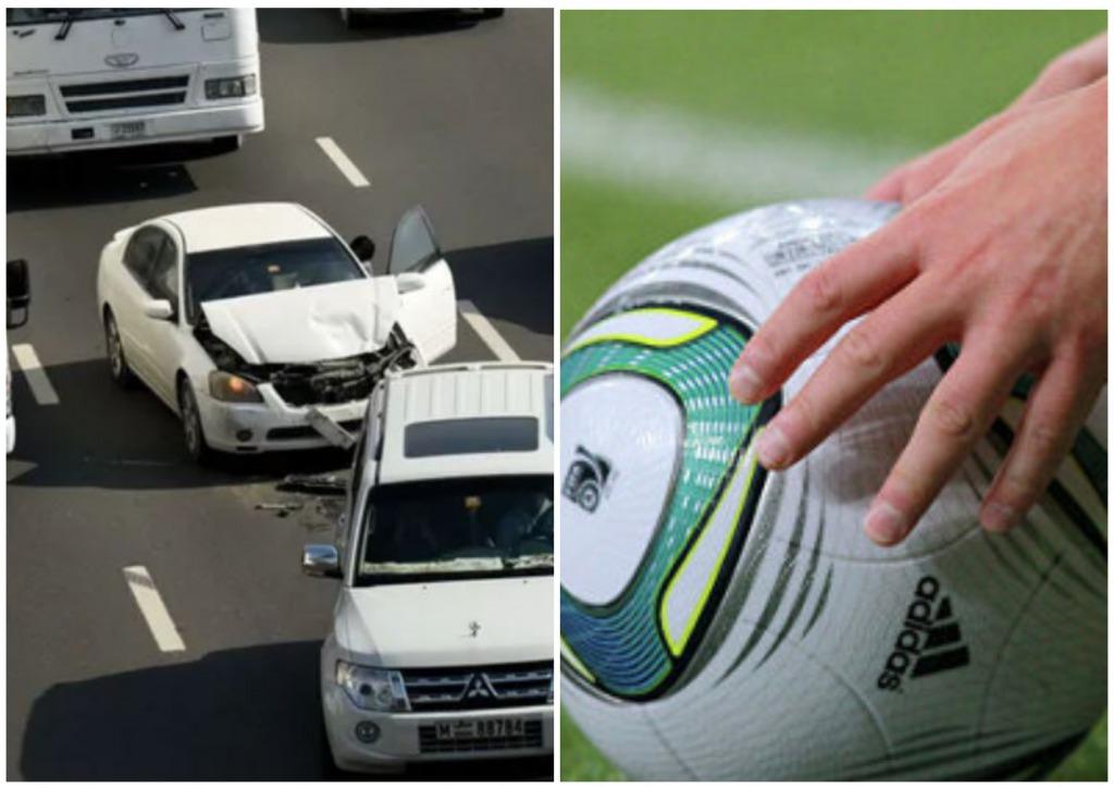 «Влетели в грузовик!» Известный футболист разбился в жуткой аварии. Вместе с женой и сыном — погибли мгновенно