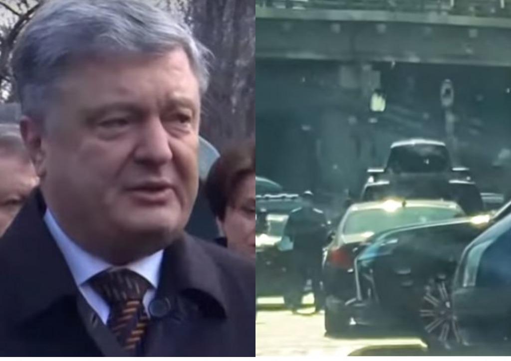 В центре столицы! Порошенко засекли на позорном — украинцы шокированы. Ждут ареста Гетьмана!