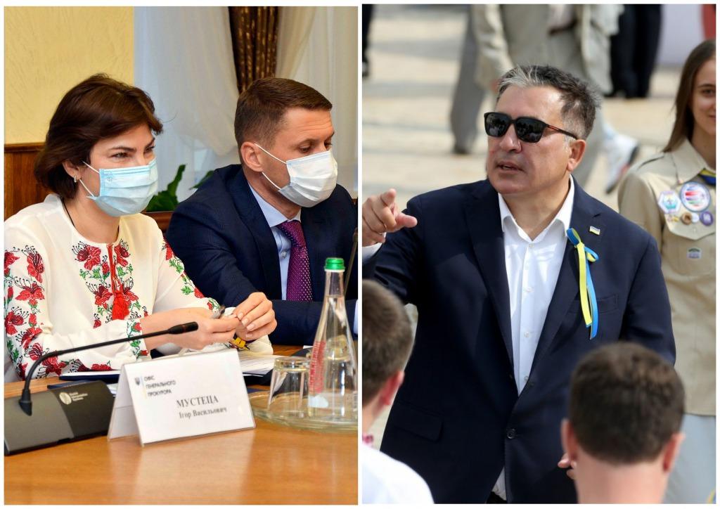 Направили в суд — Венедиктова сделала это. Саакашвили аплодирует — это победа!
