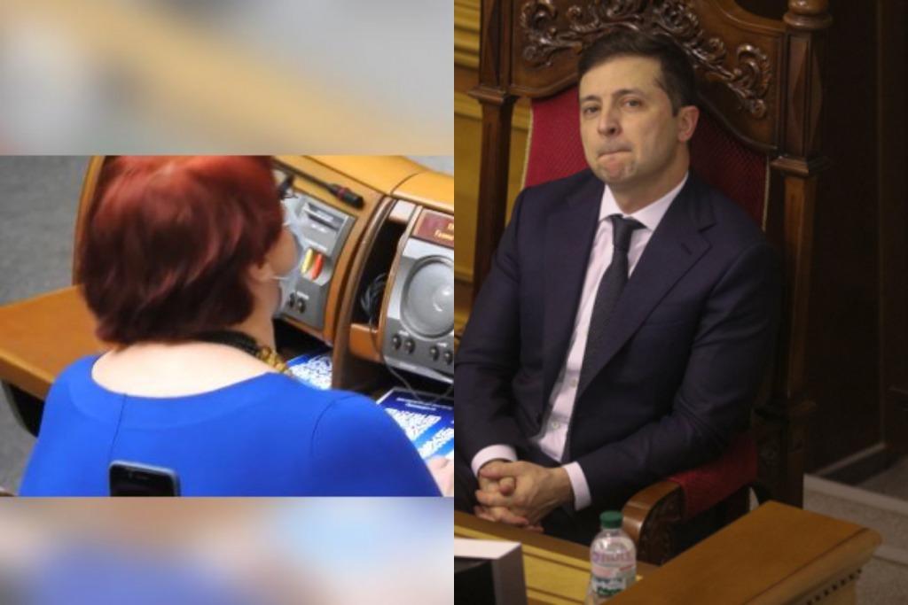 Депутат шокировала — прямо во время речи Зеленского. Это увидела вся страна — выслужиться перед президентом