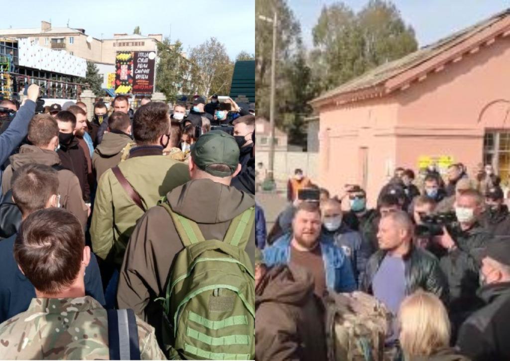 Со «слугами» на Донбассе произошло немыслимое — окружили со всех сторон. Устроили перепалку — «Позорище»