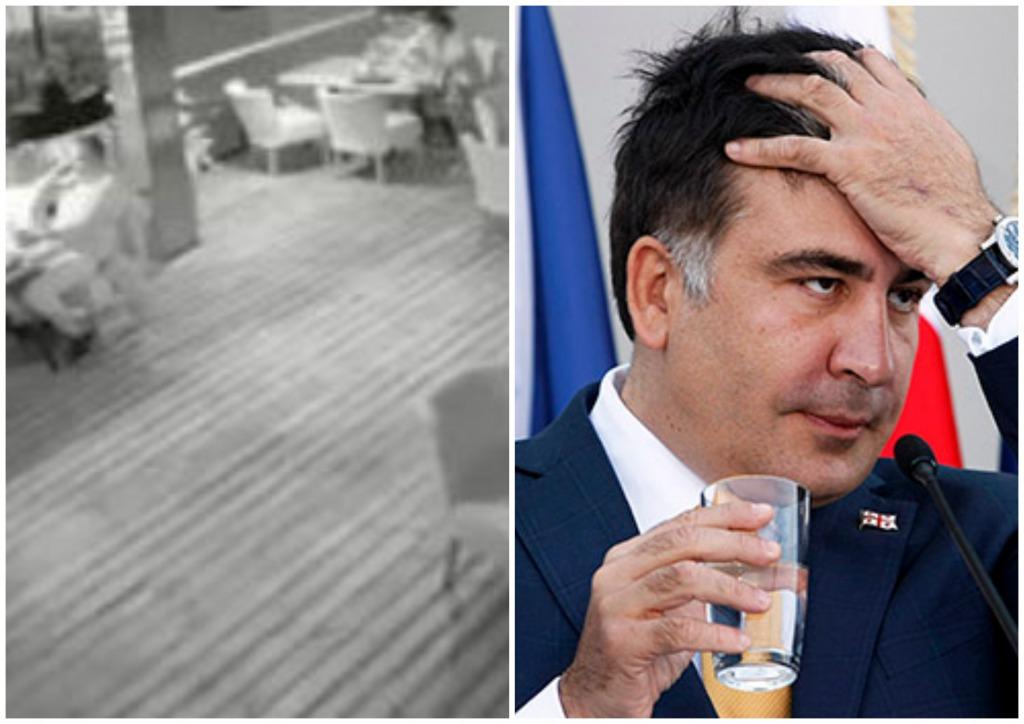 Впервые после «нападения»! Саакашвили выступил со срочным заявлением … Он подошел ко мне