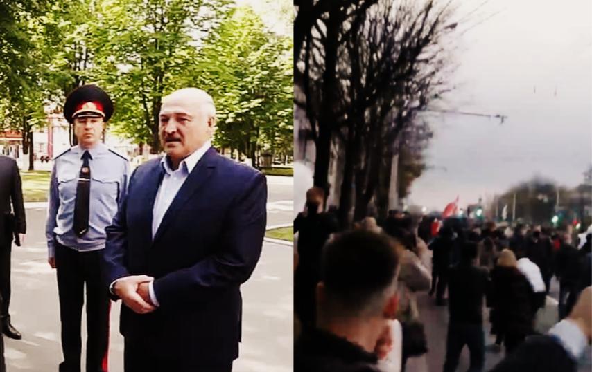 Стрельба! Лукашенко спустил цепных псов. Тихановская в шоке – страшная новость. Первая кровь, началось
