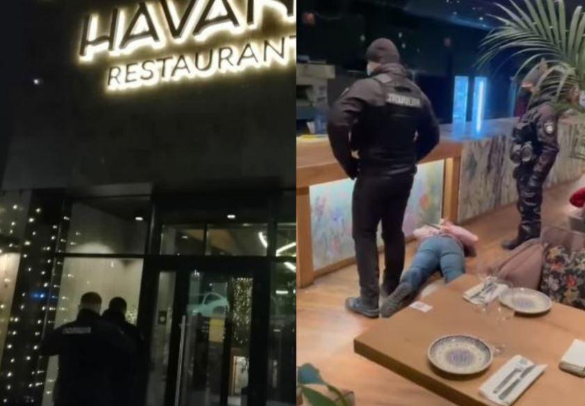 Лицом в пол! Поздно вечером — жесткий штурм элитного ресторана в столице. Выломали двери — целая спецоперация